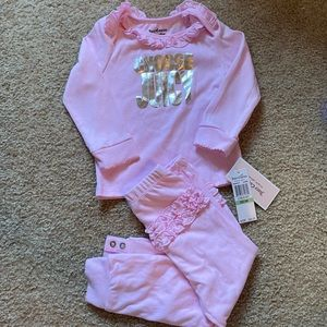 Juicy Couture baby girl two piece set